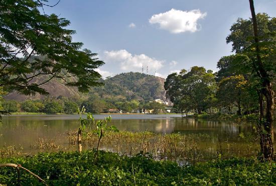 Kurunegala, ศรีลังกา: het meer