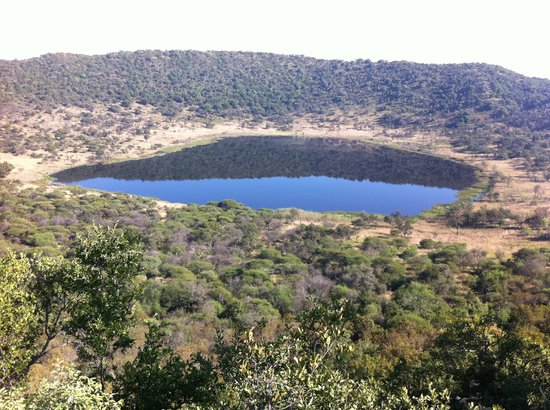 Soshanguve, Südafrika: View of the crater