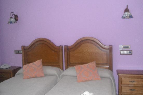 Hotel La Vijanera: Habitacion con 2 camas en la planta 1