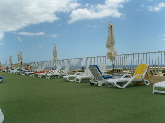 IFA Catarina Hotel: terrasse naturiste