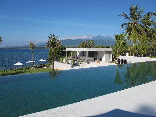 Tanjung, Indonesien: Pool and Bar