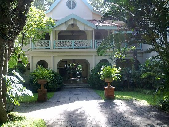 The Taj West End: Villa where I stayed