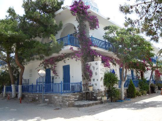 Aliki, กรีซ: Hotel Aphrodite