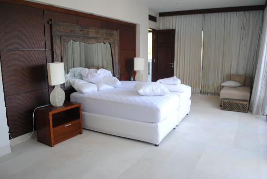 Sinaran Surga villas: typical room