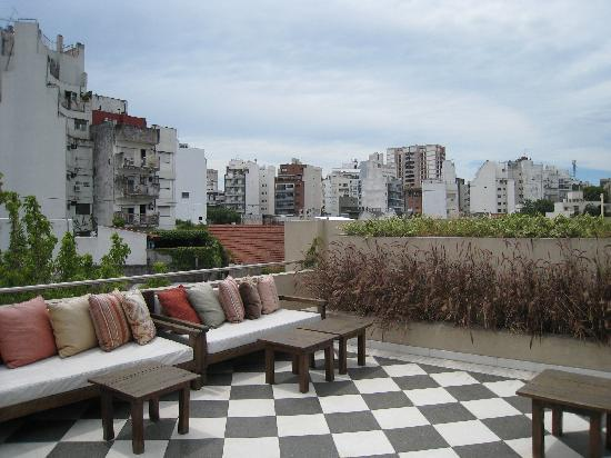 Magnolia Hotel Boutique : Roof terrace