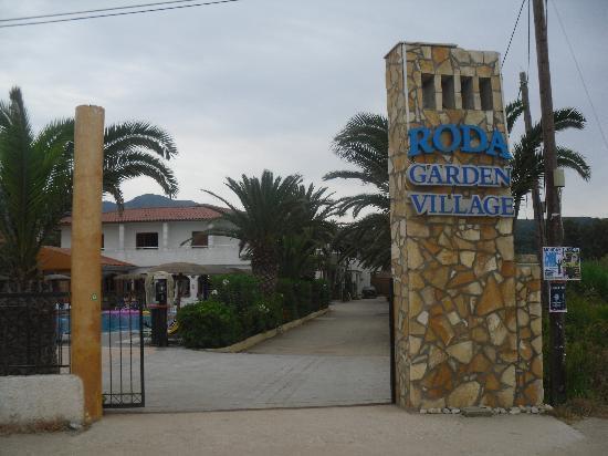 Roda Garden Village: The Hotel Entrance