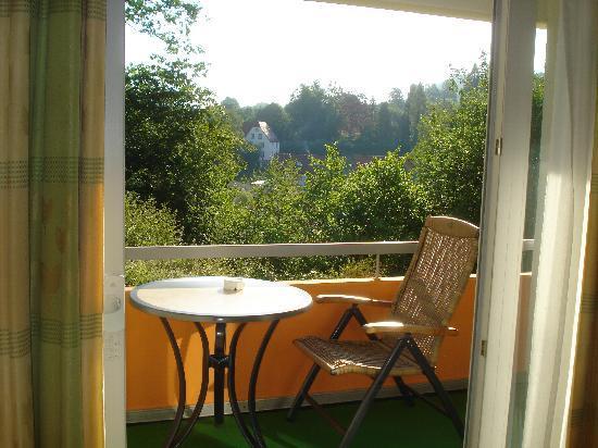 Hotel Pfalzblick: terrazzo e natura .
