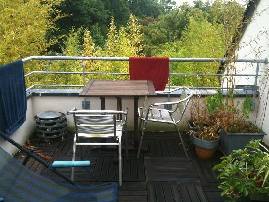 Bay Ouest Guesthouse: terrasse suite