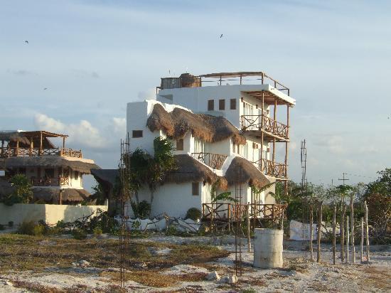 Vista del hotel picture of casa blatha holbox island for Villas hm paraiso del mar holbox tripadvisor