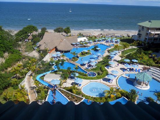 Sheraton Bijao Beach Resort : Deluxe OceanView Room View