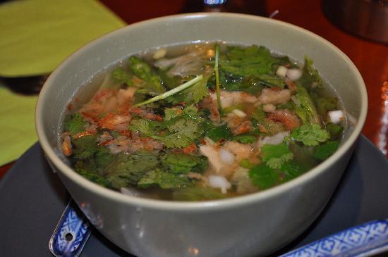 Le Lotus Blanc : Tofu Vermicelli soup