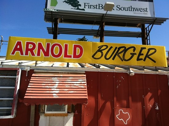 Arnolds Burgers: Great Burgers!