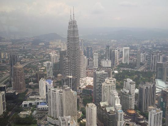มาเลเซีย: Kuala Lumpur frm KL tower