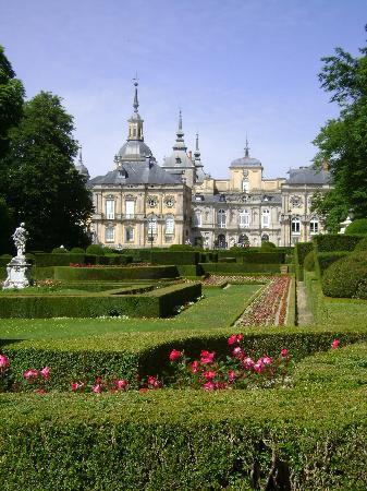 Palacio Real de la Granja : La Granja de San Ildefonso, Segovia.