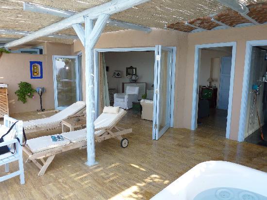 Beyaz Yunus Hotel: Room 5 terrace