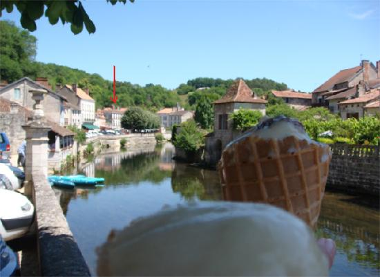 Brantome, France: Ice-cream Cam