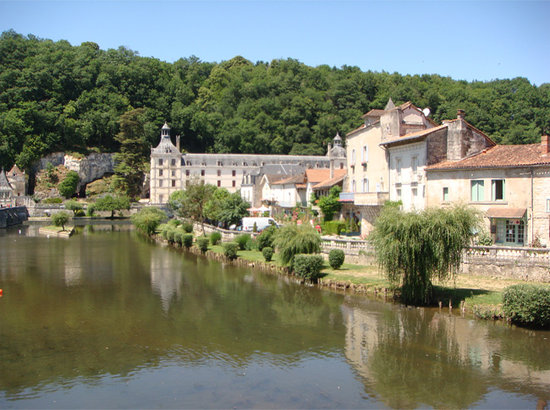 Brantôme, France : View of Brantome