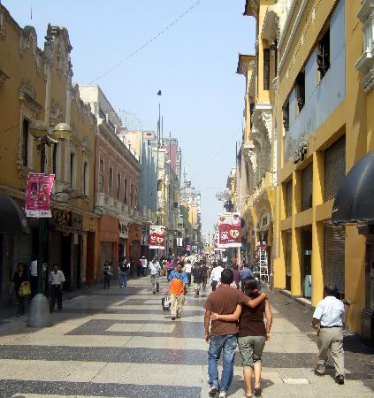 Monica Tours Peru: Le centre ville