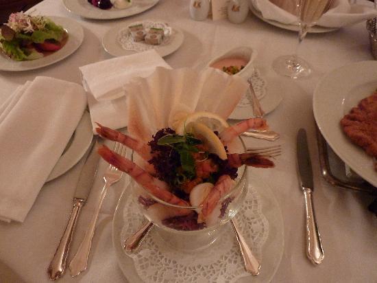 Hotel Imperial Vienna: Bon appétit