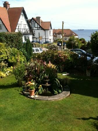 Bosanneth Hotel: the lovely quiet garden