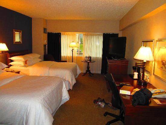Sheraton Detroit Novi: A photo of my room