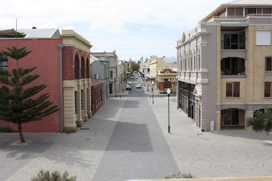 Fremantle, Australien: Altstadt Blick vom Roundhouse
