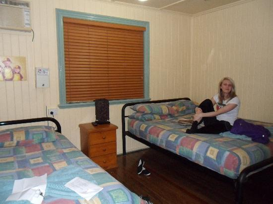 Tropic Days Backpackers: The room we stayed in...