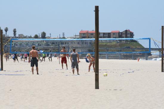 Ocean Beach Volleyball