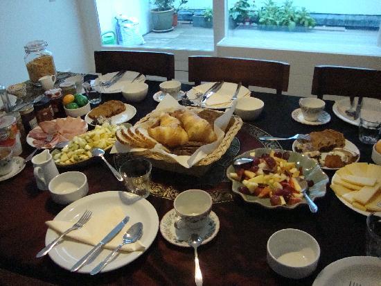 Maes B & B: colazione