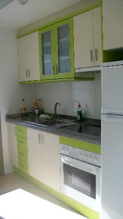 Aparthotel Esmeralda Suites: cocina