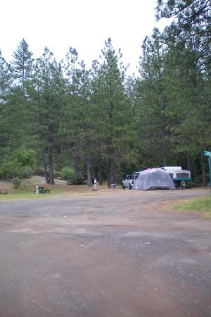 Yosemite Pines RV Resort and Family Lodging: My Site