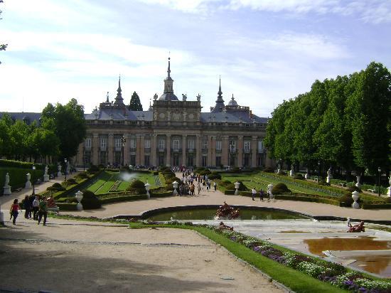 La Granja de San Ildefonso, Segovia.: fotografía de Palacio Real de la Granja...