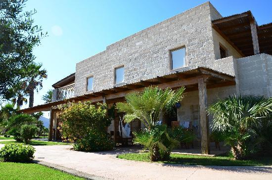 Geco Resort : La chambre avec terrasse et hamac