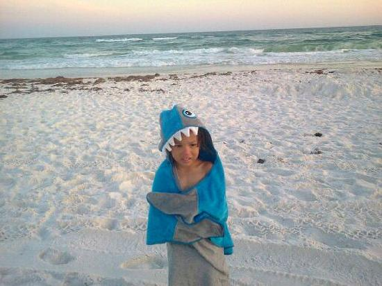 Henderson Beach State Park Campground: Grandson1