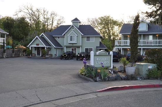 Baechtel Creek Inn: It looks nice, doesn´t it?