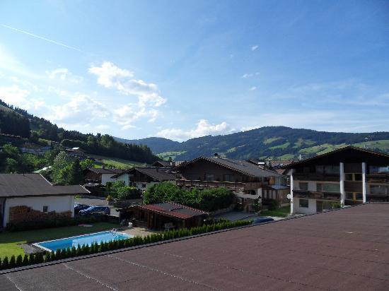 Hotel Taxacherhof: Blick vom Balkon