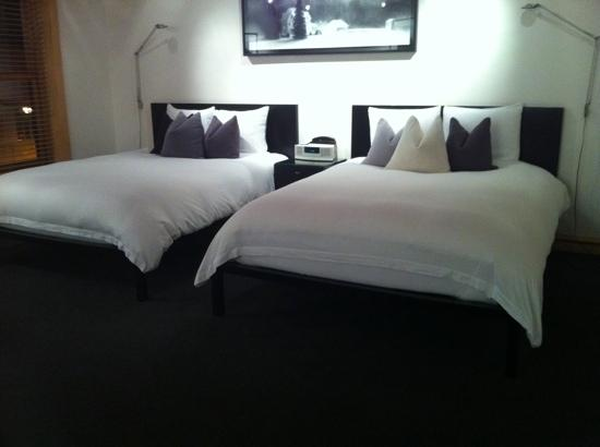 The Hotel Donaldson: Comfortable beds
