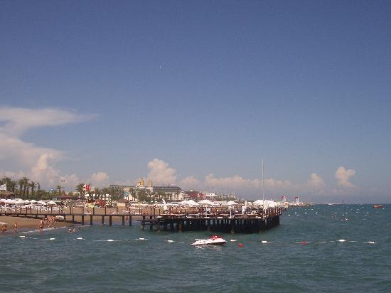 Barut Lara: View from jetty