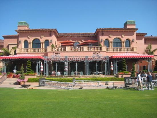 Fairmont Grand Del Mar: The view from the breakfast bar outside