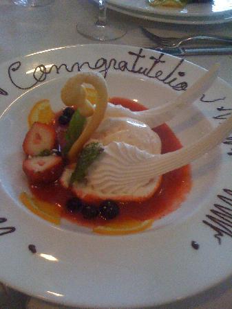 Savour : Beautiful Swan Dessert