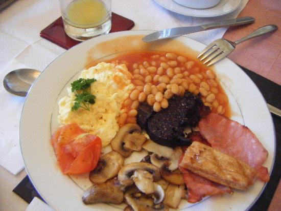Adina B&B: Adina's Scottish fantastic breakfast