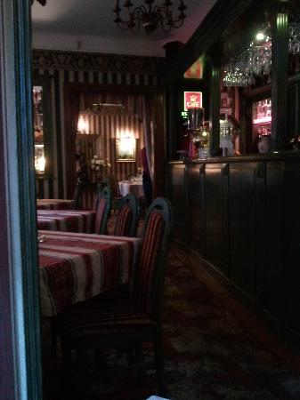 Club and Restauranja Impresja: the bar area