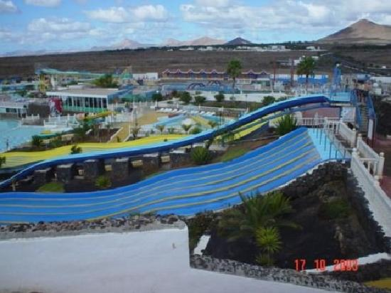 Aquapark Costa Teguise: A better view of the park