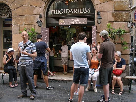 La Gelateria Frigidarium: Yum, yum