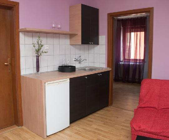 CitiHotel Veliki : Kitchenette