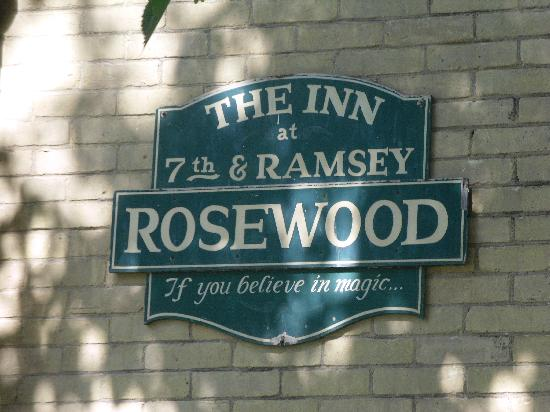 The Historic Inn on Ramsey Street: It is magical