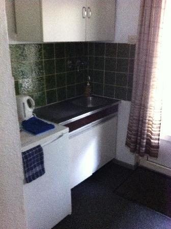 Motel de Heek: Kitchen