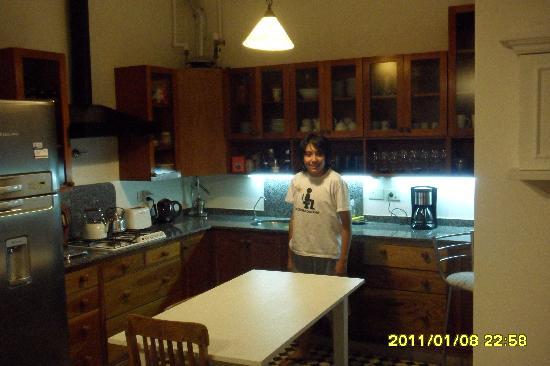 La casa de Paula. Bed & Art: Esta de la cocina