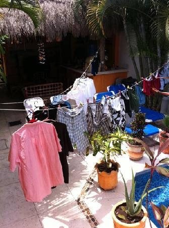 Casita de Maya: Dan's fantastic helpers even did our laundry!!