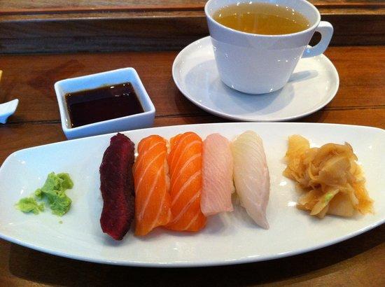 Alex Sushi: White menu